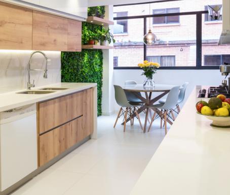 Proyecto: remodelación de cocina moderna y funcional